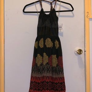 New with tags: Black paisley dress